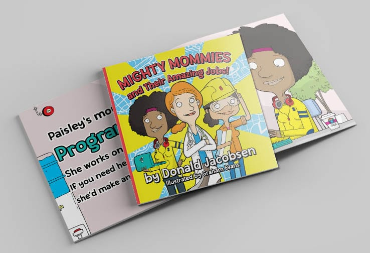 Mighty Mommies cover with programmer